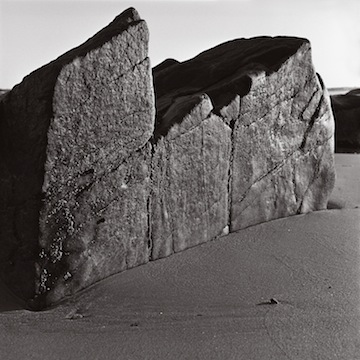 Rock & Sand, East Beach, 1995.jpg