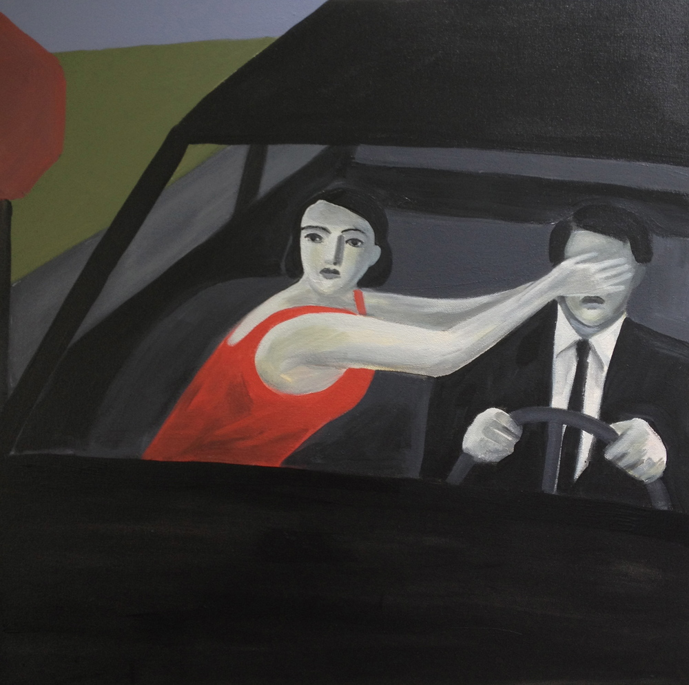 Drive By  , Anthony Russo, 2012.  acrylic on canvas