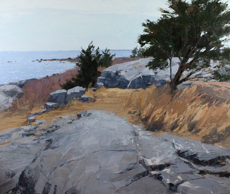 2. On The Rocks_oil_40x48.jpg
