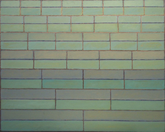 "Vera Cruz  , John Havens Thornton, 1979.  48"" x 60"", Oil on Canvas  $4200"
