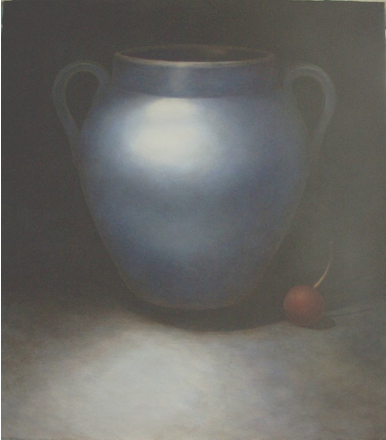 Cherry  , Bill Shattuck  3' x 4', oil on panel  Sold