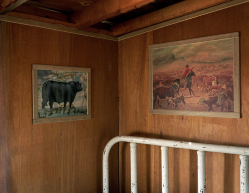 "Hamblin Family Ranch 1,   Kipp Wettstein, 2009.  50"" x 60"", digital C-print"