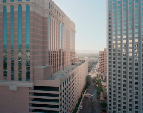 "Las Vegas, Nevada  , Kipp Wettstein, 2010.   50"" x 60"", digital C-print"