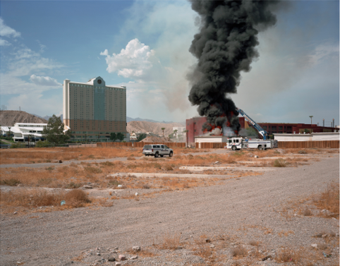 "Bullhead City, Arizona  , Kipp Wettstein, 2009.   50"" x 60"", digital C-print"