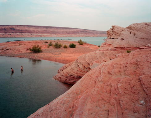 "Lake Powell, Arizona  , Kipp Wettstein, 2009.   50"" x 60"", digital C-print"
