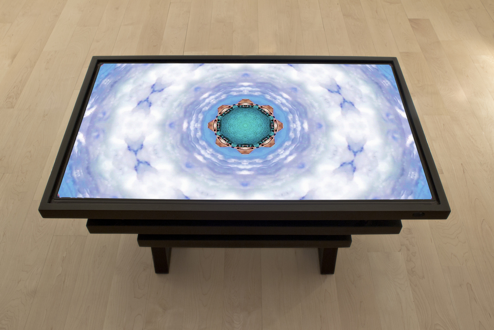 Ann Spalter  Topio (Video Table), Bora Bora: Lagoon, 1080p HD digital video, 3min. 2013