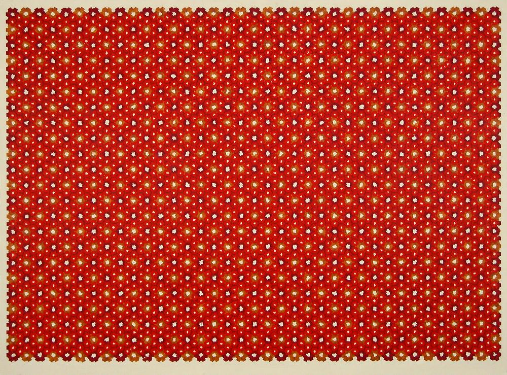 """udo 12a     Jacqueline Ott, 2001  acrylic on acrylic panel  36"""" x 48"""""""