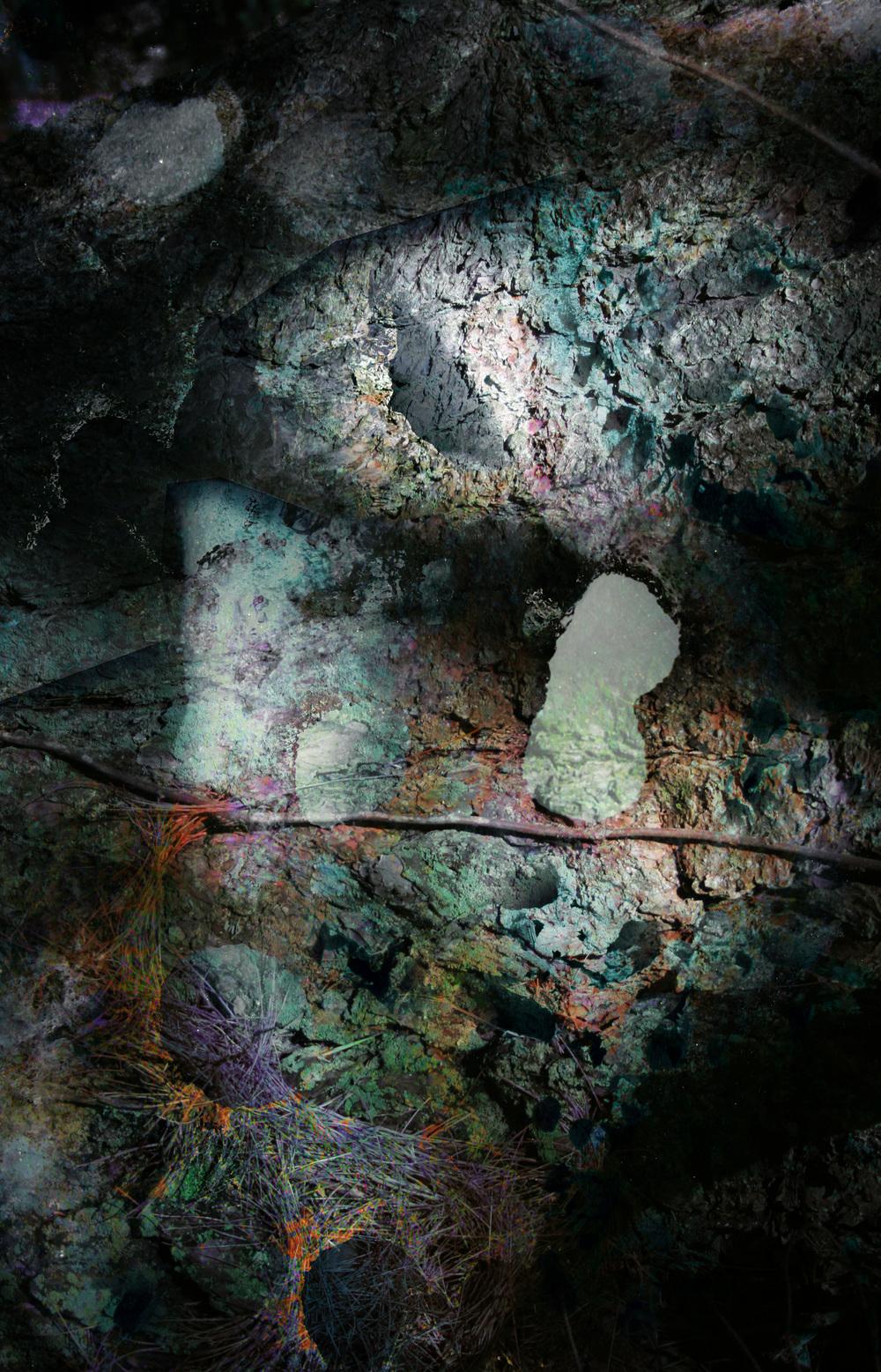 "Coincidentia Oppositorum 1,    Harvey Goldman, 2014    26"" x 36,"" Digital Print, 1/20"