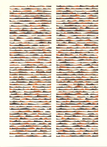 "pstme 14     Jacqueline Ott, 1996  graphite on paper  30"" x 22"""
