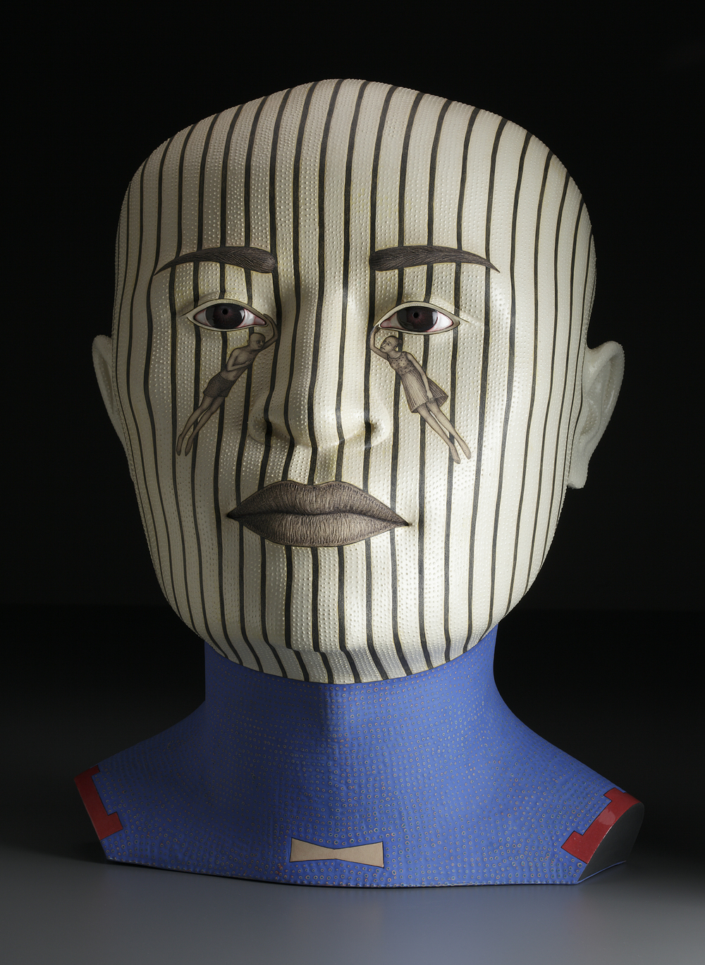"The Guardian,  2009,   25.5 x 20 x 17.5""    Stoneware       Photo: John Polak courtesy of Ferrin Contemporary"