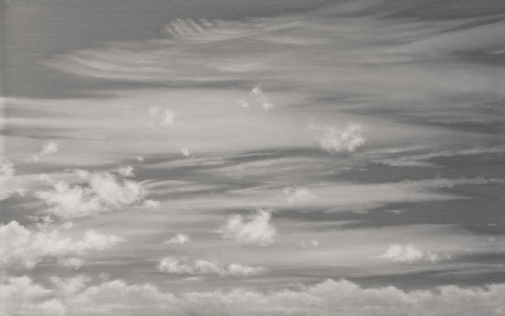 "Daydream | 2011 | oil on aluminum | 10"" x 16"" |"