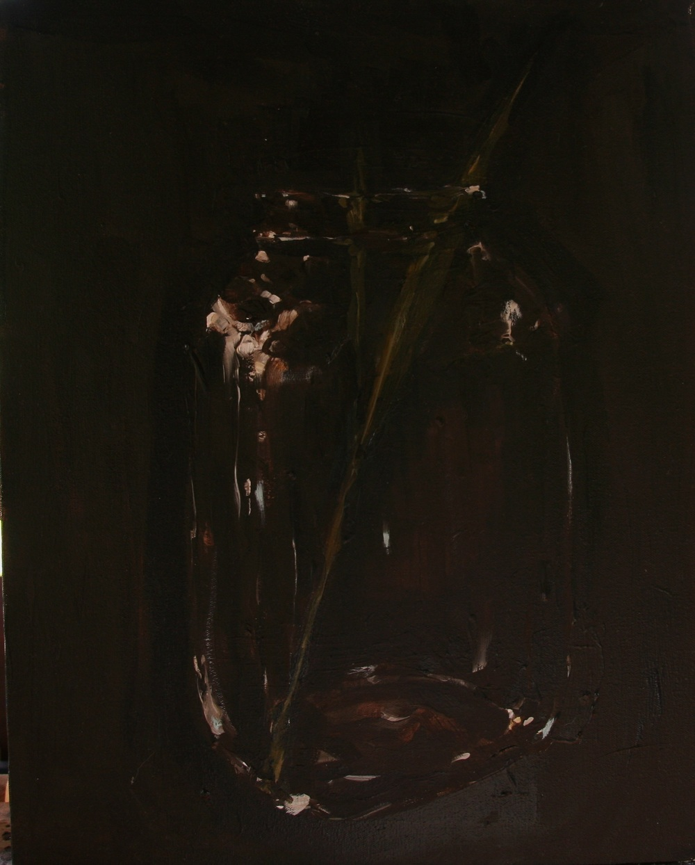 "Invasive: Phragmites,   Oil on canvas, 20"" x 16""  2900.00"
