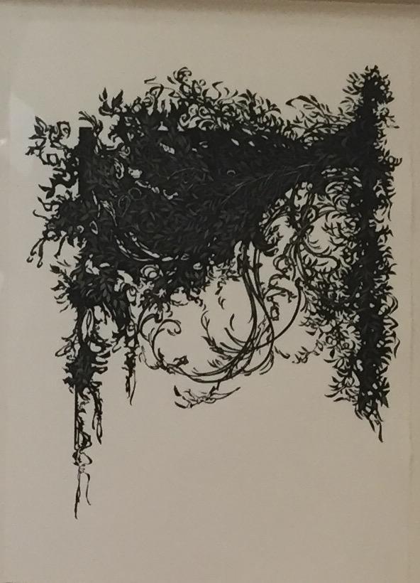 "Untitled, charcoal, 39"" x 27""  $6000"