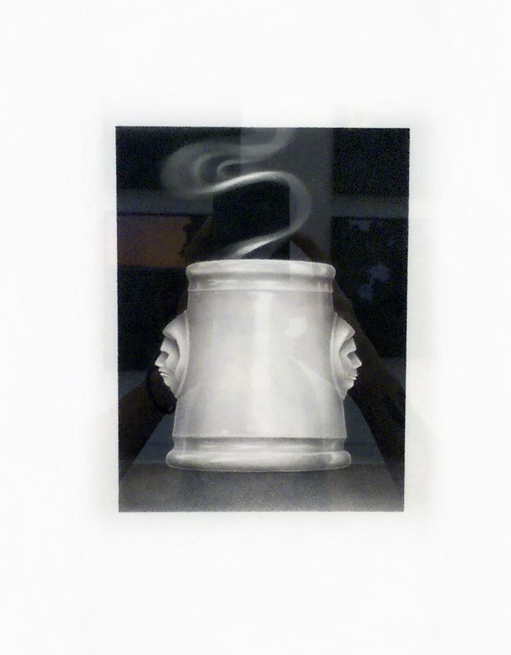 "Janus Cup, charcoal, 7"" x 51⁄2""  $2000"
