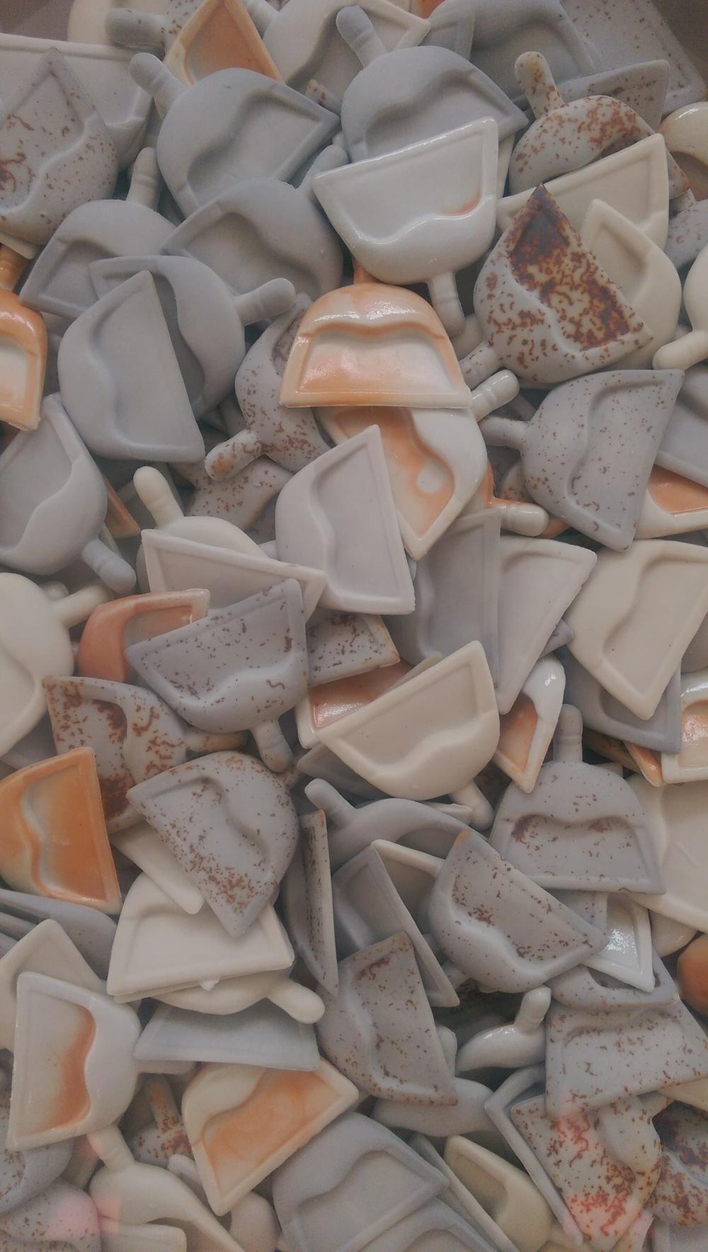 Spic n' Span 3  (detail),2016  Porcelain  Sold