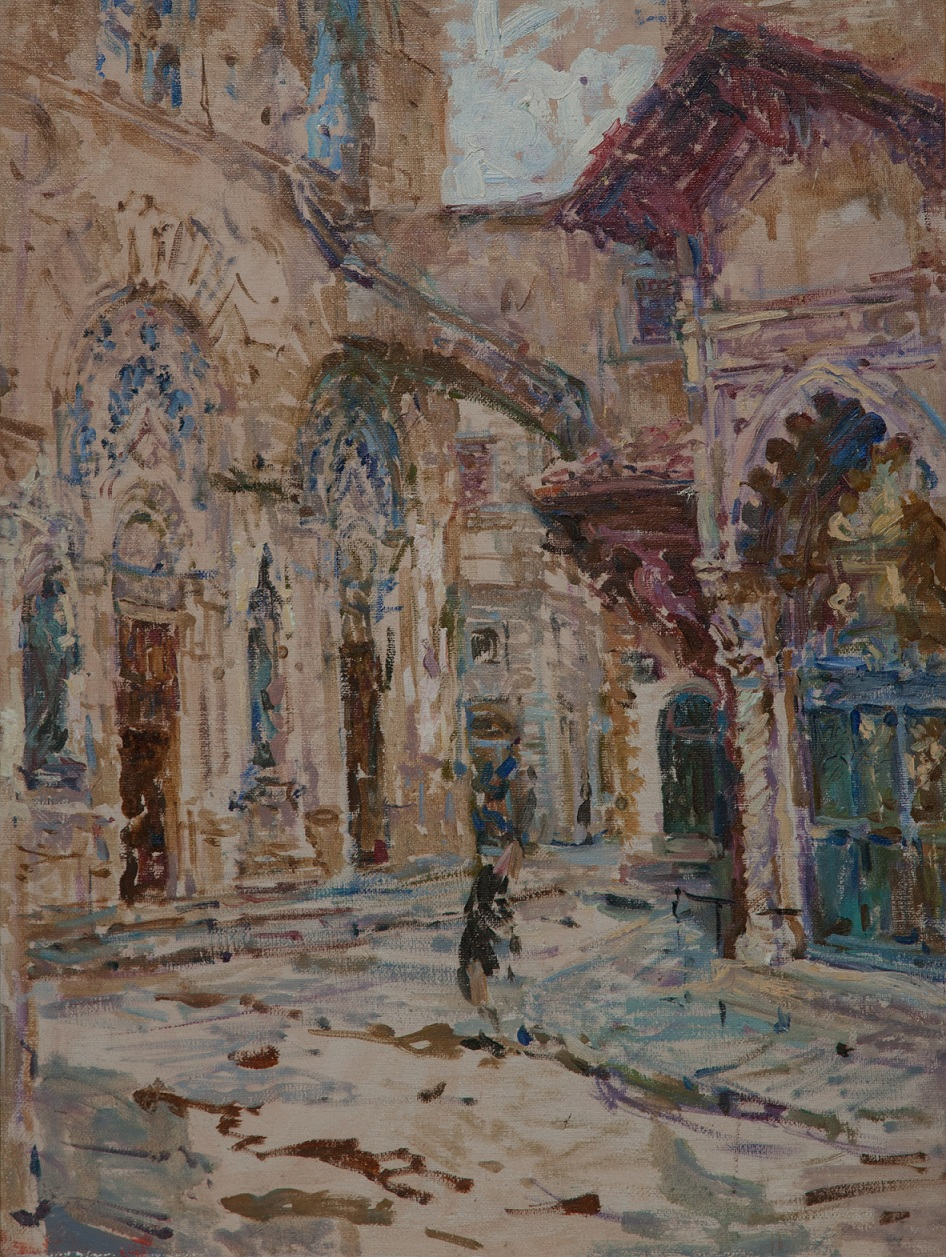 6.Orsanmichele,oil on canvas, 65x40cm.jpg