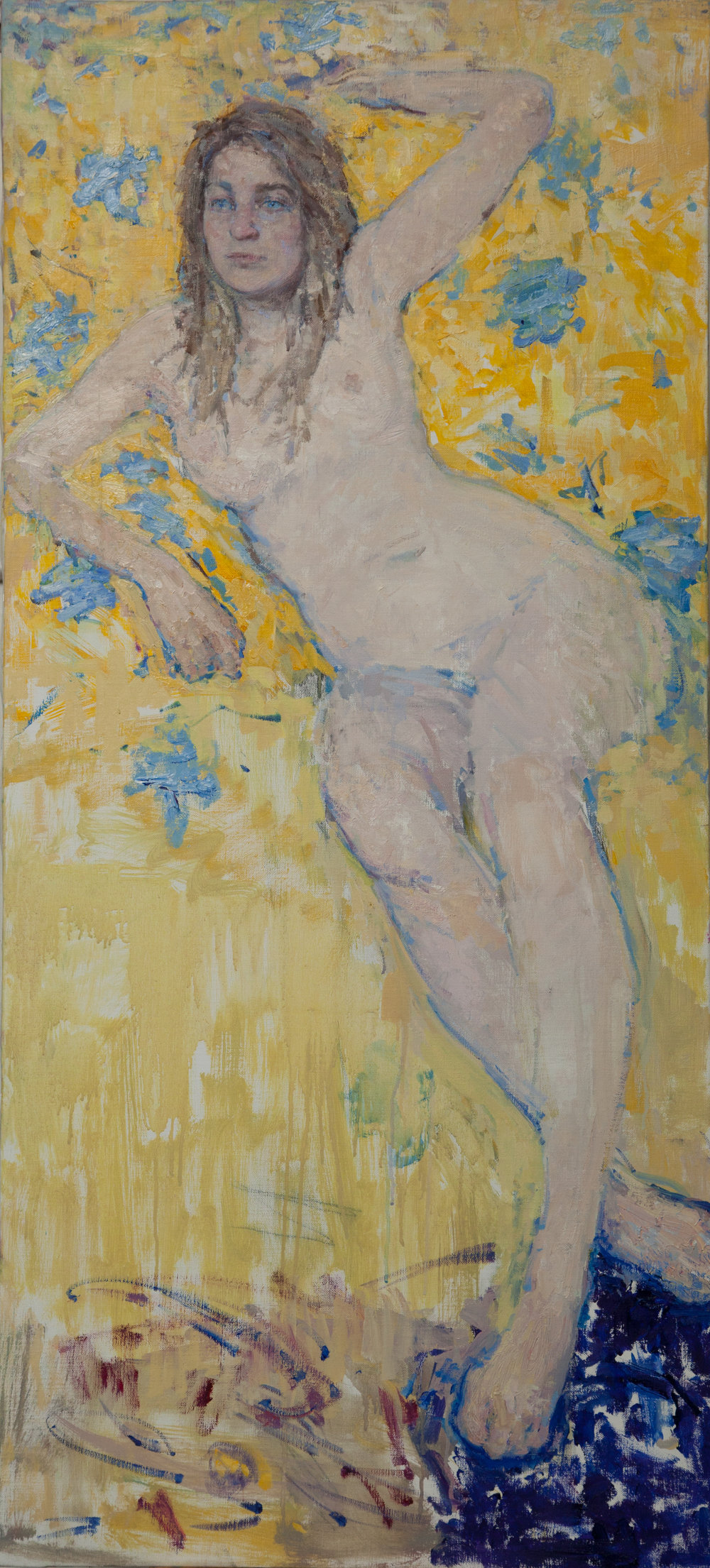 5.Freyja, oil on canvas, 122x55cm.JPG