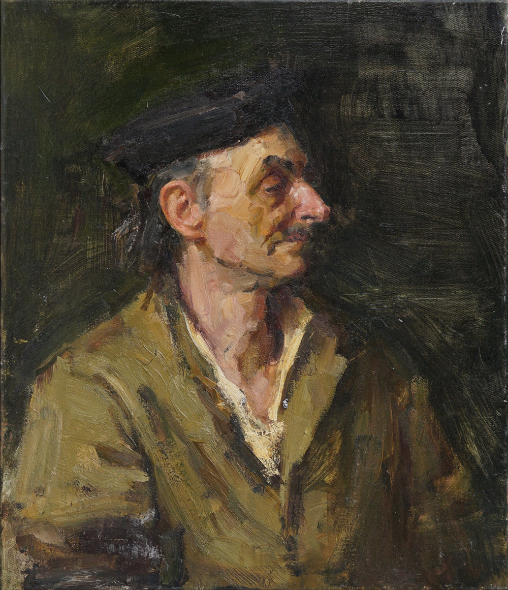 Portrait of an old man,  23 2 3 x 19 3 4, Oil,Linen.jpg
