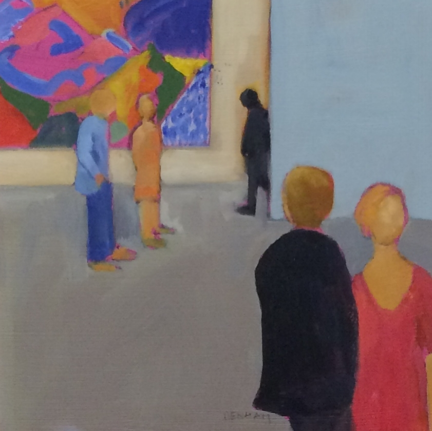 Looking at David Hockney