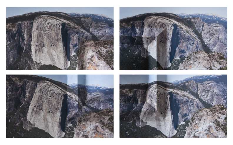 Mountains + Valleys (El Capitan, Tetraptych)