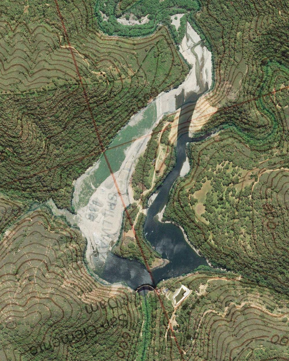 San Clemente Dam Satl/Topo