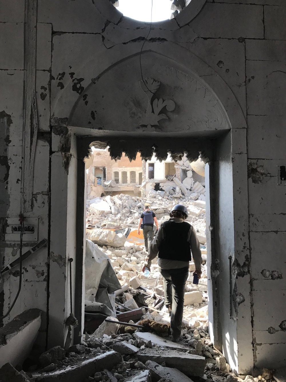 Rukmini--Mosul, Iraq; July, 2017