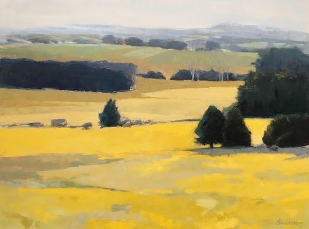 Sonata In Yellow, 36X48, 2017, $4000.jpg