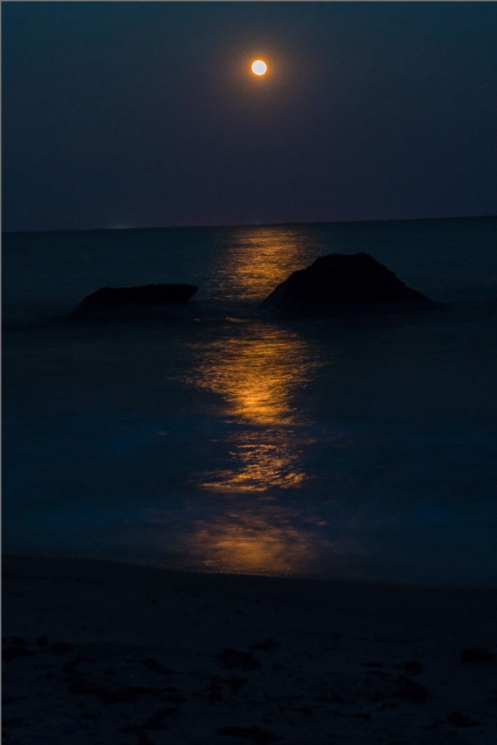 Moonlight in Waves, Buzzards Bay
