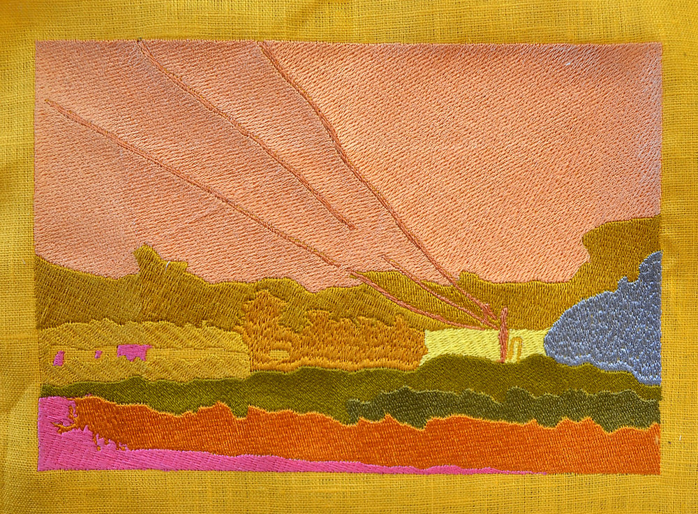 Embroidered Landscape no. 1