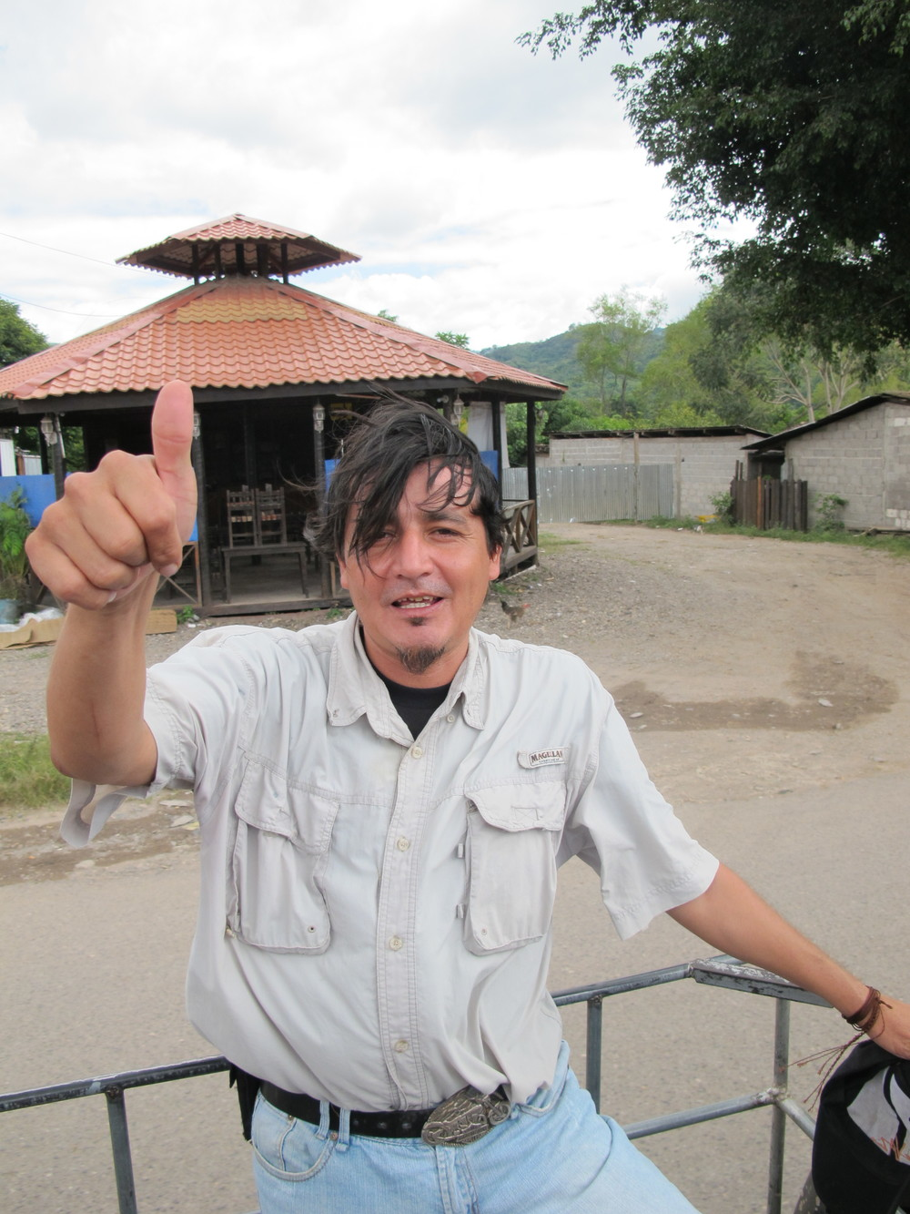 Our guide, Juan