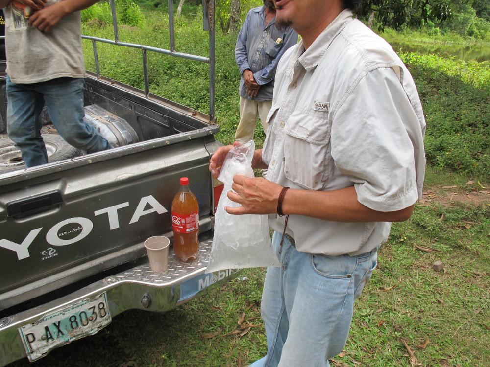 """That's """"wine"""" in the coke bottle"""