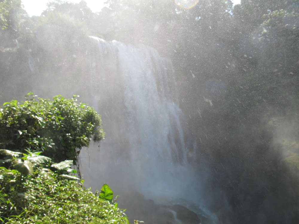 The 35k waterfall with a lot of mist!