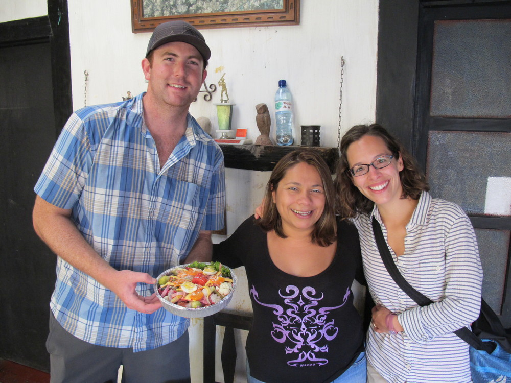 Our friend Carolina, Antigua, Guatemala