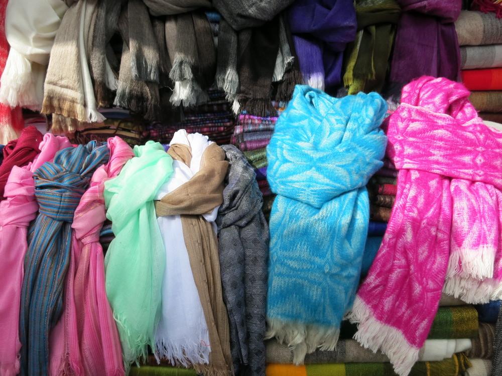 Alpaca scarves
