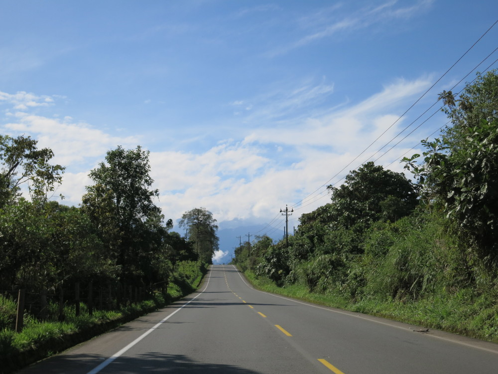 Beautiful stretches of road