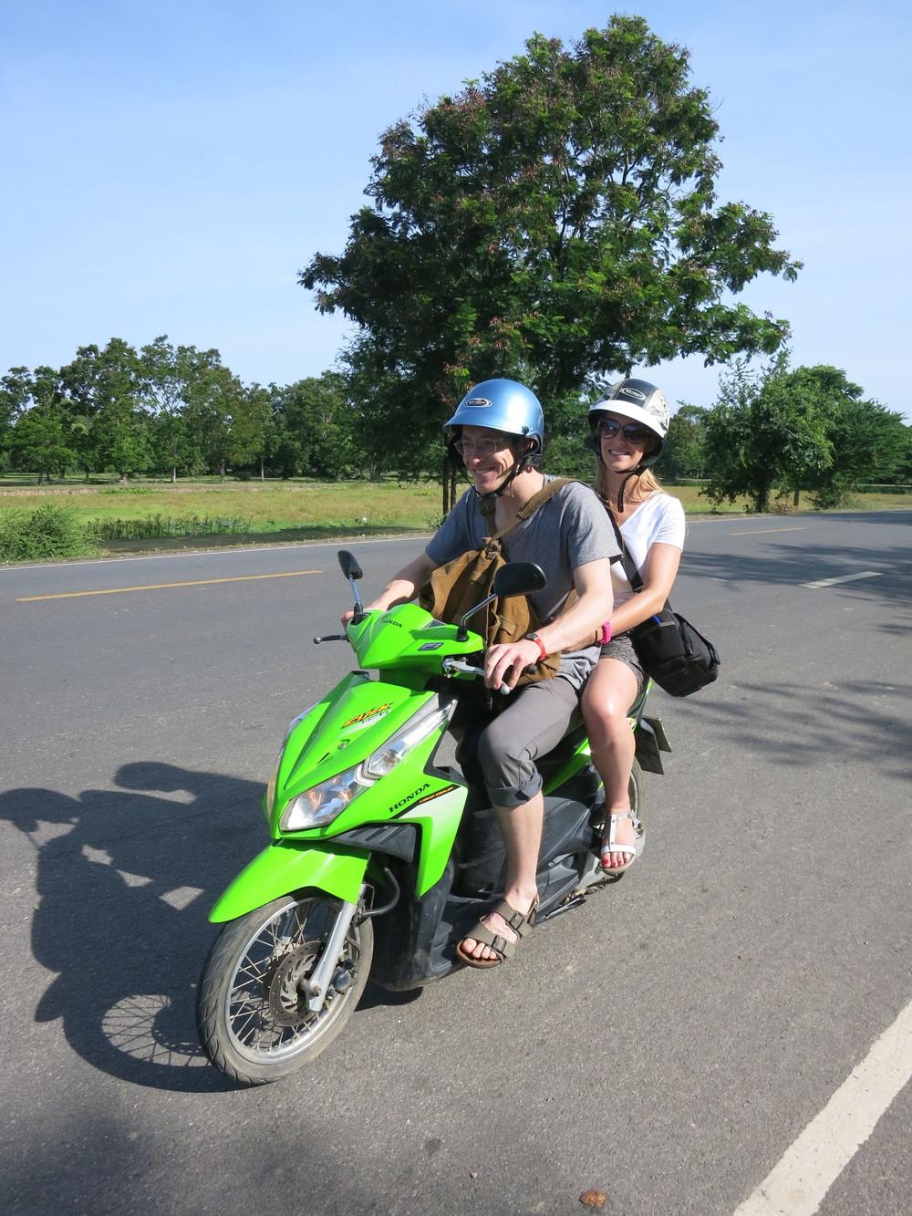 Motor bikes!