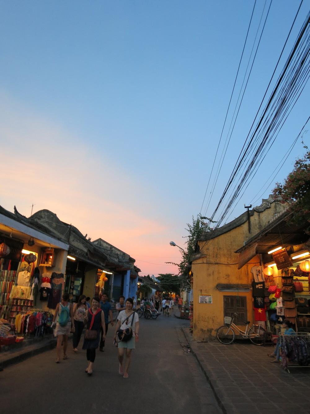 Hoi An at dusk