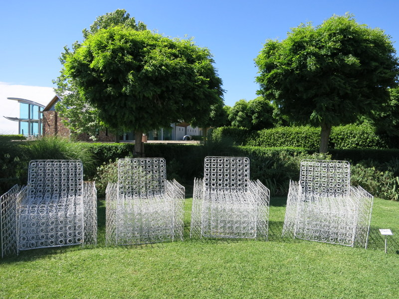 Mattress spring chairs