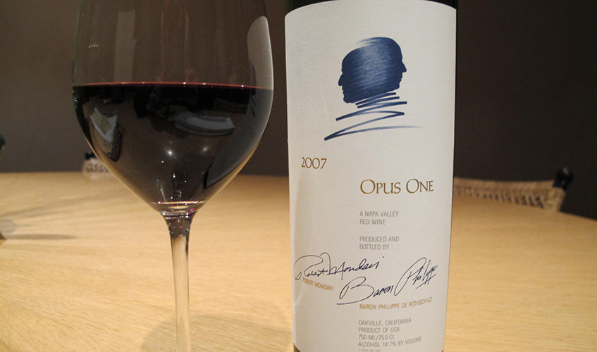 Opus One is an example of another Red Blend