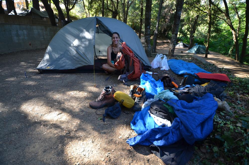 Camping at La Tonnelle