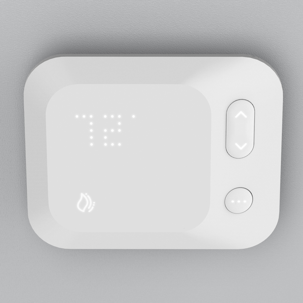 Home Thermostat   Industrial Design Physical Interaction Design