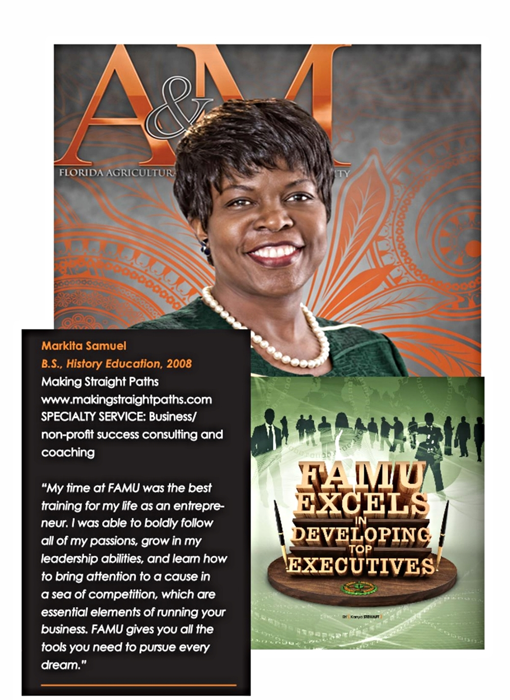 It was SUCH and honor to be featured in the FAMU Alumni Magazine! FAMU is where it all really began...