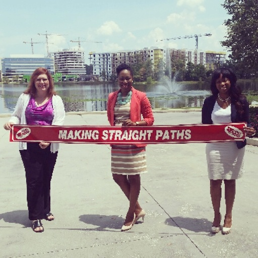 Making Straights Paths Woodlands Chamber Ribbon Cutting