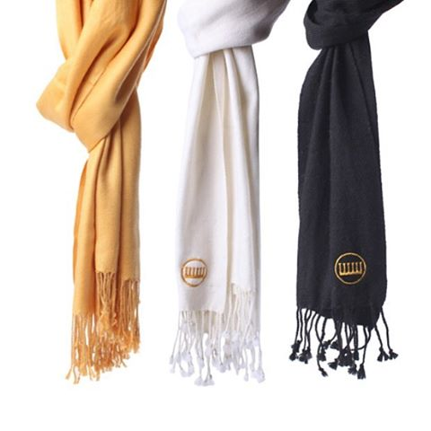 "50% off already reduced prices on women's cashmere scarves today! Use ""MONDAYFUNDAY"" at checkout. #MIZZOU #everytrueson #babyitscoldoutside"