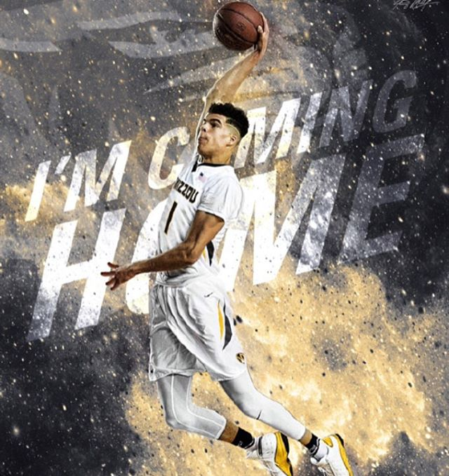 GUYSITSREALLYHAPPENING!!!!!!!! As reported by Jeff Borzello @ESPN #1 overall prospect Michael Porter Jr has committed to #mizzou !!!!!