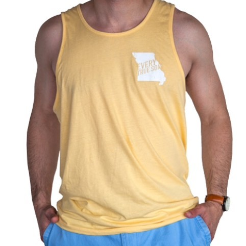The hottest day of the year means it's time to drop the farmers tan. Get the columns summer tee for $14.99! #darewesayit #sunsoutgunsout💪 #mizzou #ets