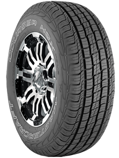 Overview The Mastercraft Courser HSX Tour is a premium SUV tire designed to deliver a smooth, comfortable ride, responsive handling, all-season traction with long wearing tread. The HSX Tour is offered in the most popular sizes in the SUV market. 60,000 Mile Treadwear Protection Warranty