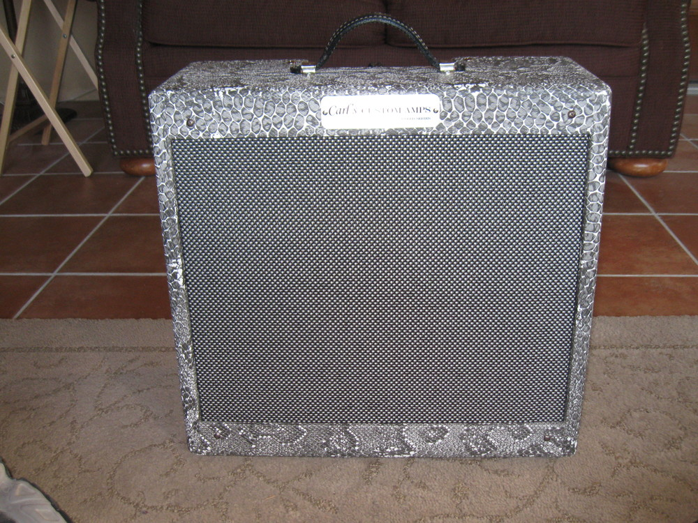 Custom Classic 5F1 Champ with Snake Skin Tolex and Salt and Pepper Grill cloth
