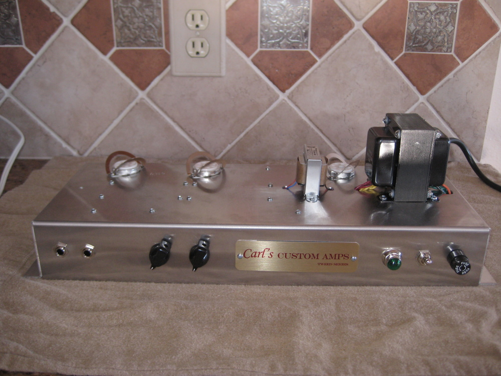 Custom 5C2 Octal Princeton in Marshall Style Chassis with Mercury Magnetic Tranformers