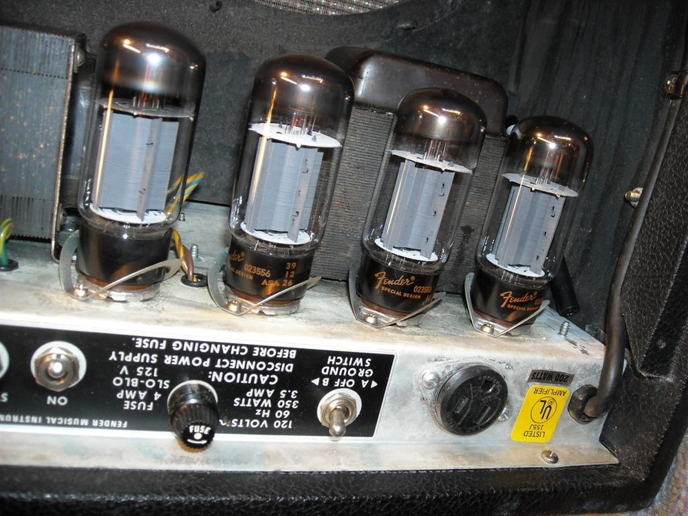 6l6GC Power Tubes in Fender Twin Reverb